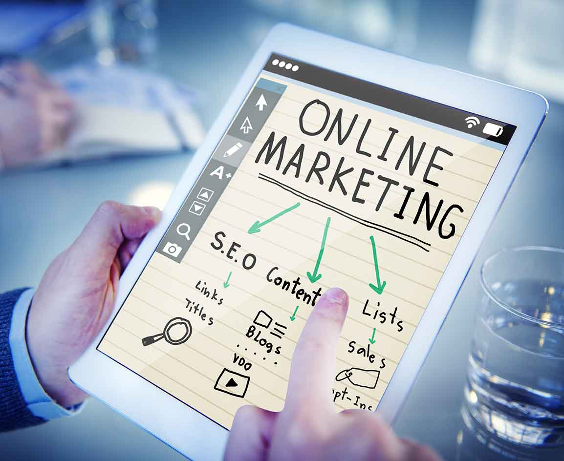 Online-Marketing SEO Content